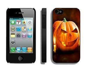Featured Desin Halloween iPhone 4 4S Case 7 Black