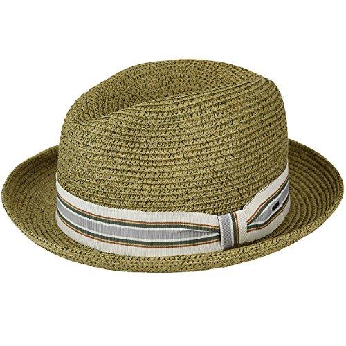 Bailey of Hollywood Men's Salem Fedora Trilby Hat, Coconut, L