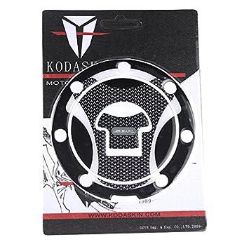 PRO-KODASKIN Gas Cap Fuel Tank Pad Sticker Protection for Honda CBR600RR CBR1000RR Gas Cap + Tank Pad, Red