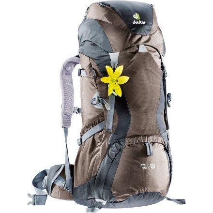 Deuter Women's ACT Lite 45 Plus 10 SL Backpack, Outdoor Stuffs