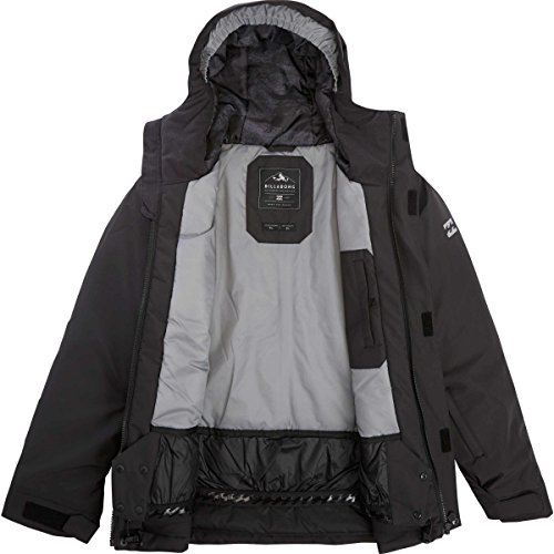 Billabong Boys' Miracle Plain Jacket Black Small (Billabong Kids Jacket)