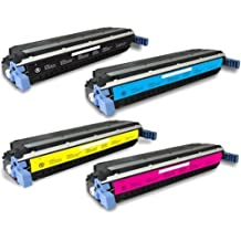 Ho Sup-Premium Quality Full Set of 4 LaserJet (HP 645A) 5500n, 5550hdn, 5500dtn, 5500, 5550dtn, 5500dn, 5550n, 5550, 5550dn, 5500hdn Black,Cyan,Magenta,Yellow (SET)