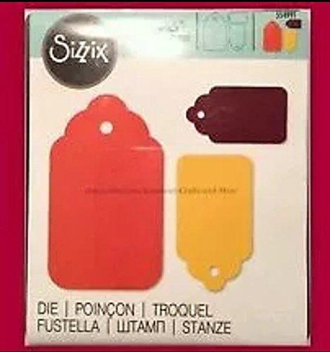 (Sizzix Originals Dies ~ Tag Scallop Combo #2!!!)