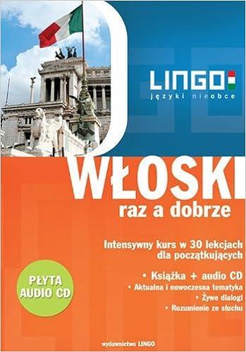 Book Wloski raz a dobrze z plyta CD
