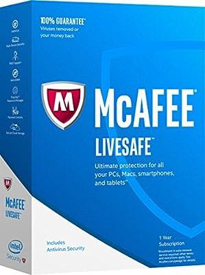 McAfee 2017 LiveSafe [Key Code]