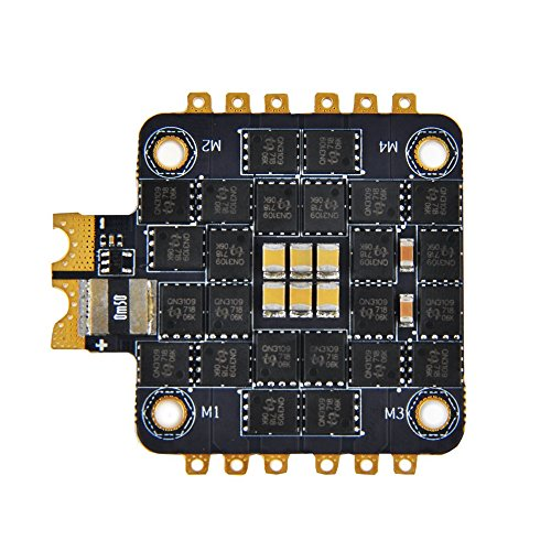 4 in 1 35A ESC BlHeli32 Firmware 32bit Supports DSHOT1200 Electronic Speed Controller 4PWM Input 30.5×30.5mm for FPV Racing Multirotor Drone Quadcopter by Crazepony