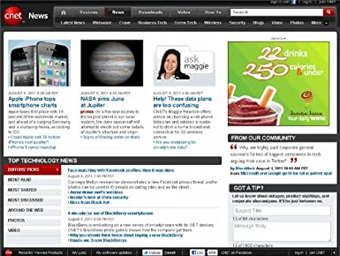 Amazon Com Cnet News Top 25 Articles Cnet Kindle Store
