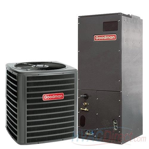 (GOODMAN AIR CONDITIONER 3 TON 14 SEER VARIABLE SPEED SPLIT SYSTEM (CONDENSER & HANDLER) - GSX140361 / AVPTC36C14)