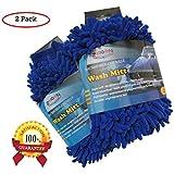 Zeigen Ultrafine Chenille Microfiber Car Wash Mitt ★ Pack of 2
