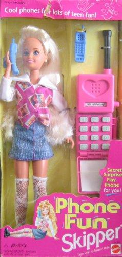 (Barbie Phone Fun SKIPPER Doll w Secret Surprise Play Phone For YOU!)