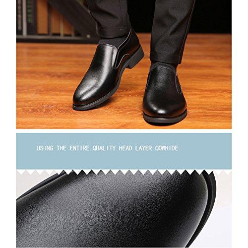 Casual Marca Set Da blackfourseasons Sandali Grandi Di Di Uomo Di Da Dimensioni In XIAOLONGY Traspirante Nuove Scarpe Scarpe Uomo Piedi Estate Cava Business Pelle gxZZT7