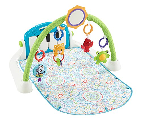 (Fisher-Price First Steps Kick 'n Play Piano Gym)