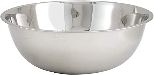Winco MXB-1300Q 11-Quart Stainless Steel Mixing Bowl