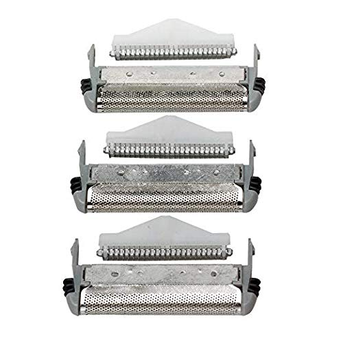 (SP-94/SP-93/MS3 Series Microscreen 3 Replacement Screen and Cutters for MicroScreen 3TCT Shavers Fit for Remington MicroScreen 3 TCT MS3-1000, MS3-2000, MS3-3000, MS3-4000)