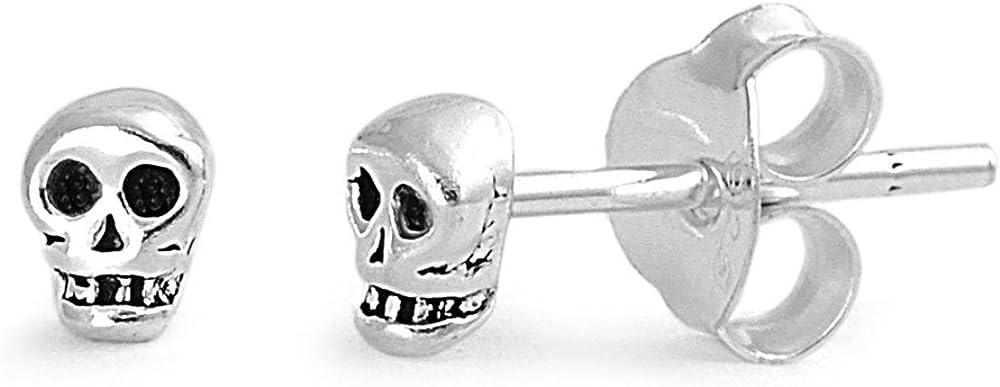 Sterling Silver Tiny Skull...