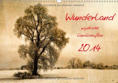 Wunderland - Mystische Landschaften (Wandkalender 2014 DIN A3 quer): Landschaftsbilder die durch die kreative Bearbeitung bestechen (Monatskalender, 14 Seiten)