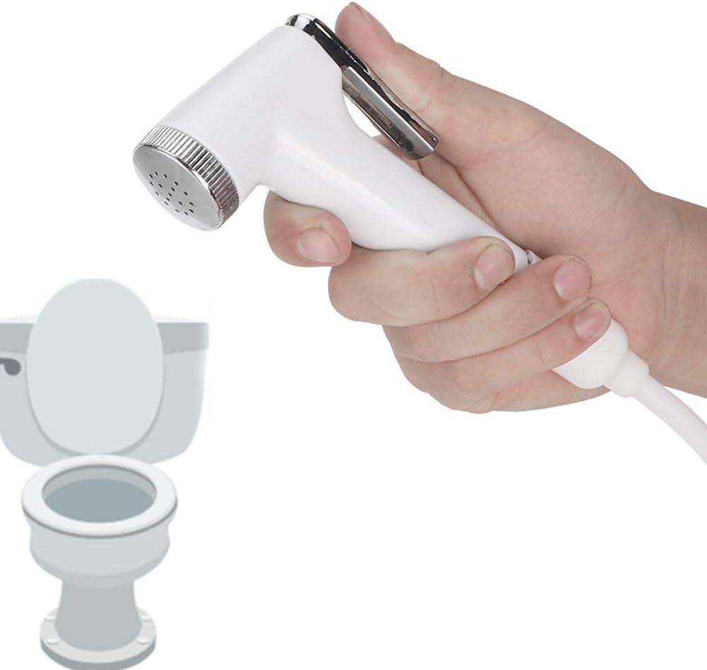 Bathroom Handheld Small Spray Gun Shower Head Self Clean Bidet Nozzle with Hose