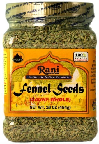 Rani Fennel Seeds 16Oz by Rani