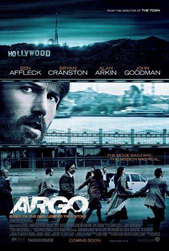 Amazon Com Argo 2012 11 X 17 Movie Poster Ben Affleck Bryan Cranston Style A Prints Posters Prints