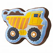 Circo Shaped Construction Truck Throw Pillow Accent Build It Toss Cushion