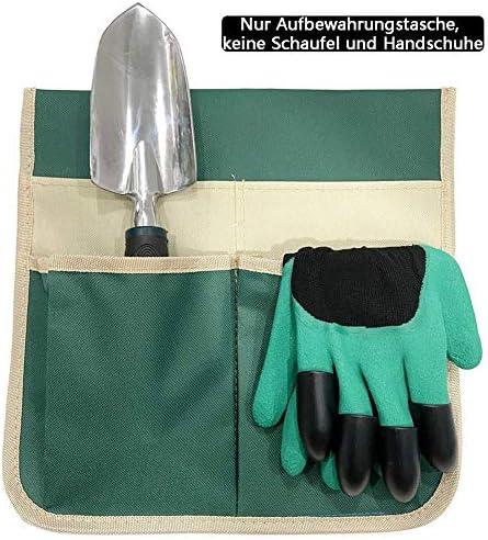 ANVEY Garten Kniebank Storage Bag Tragbare Werkzeugtasche, Garten Kneeler Hocker Seitentasche, Serie B