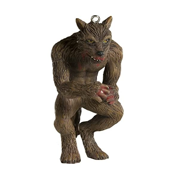 werewolf horror ornament scary prop and decoration for halloween