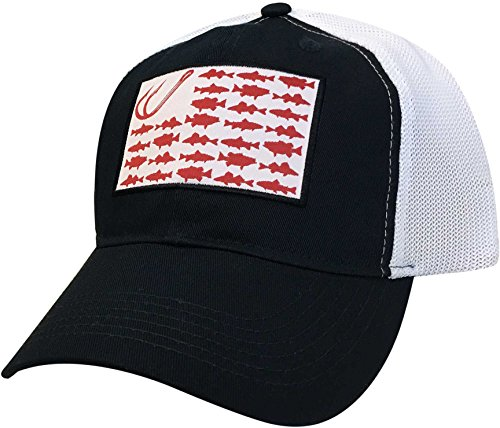 Field & Stream Men's Fish Icon Flag Hat ()