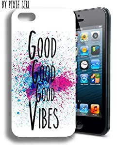 Good Vibes Hipster Popular Cute Quote Iphone 5 and 5s Case