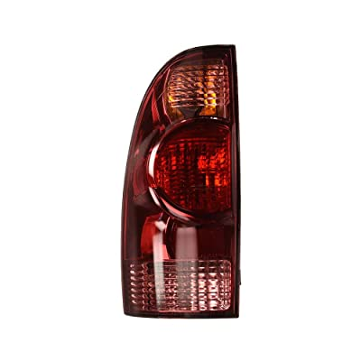 Epic Lighting OE Style Replacement Rear Brake Tail Light Assembly for 2005-2015 Tacoma [ TO2800158 8156004150 ] Left Driver Side LH: Automotive