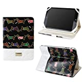 Best JAVOedge iPad Mini Cases - JAVOedge Quilted Dachshund Folio Case for the Apple Review