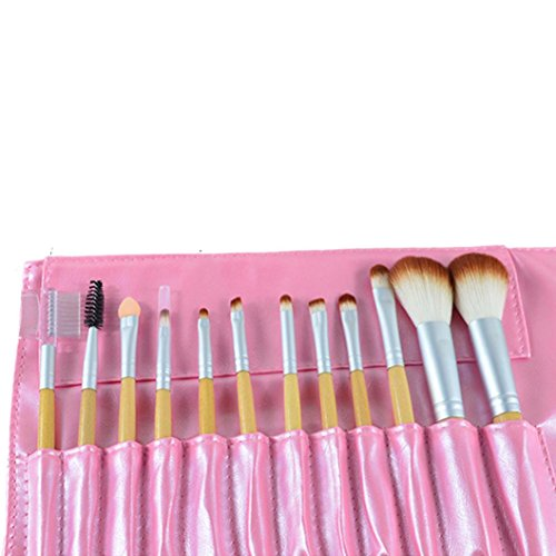 12PC Cosmetic Makeup Brush Makeup Brush Eyeshadow Brush