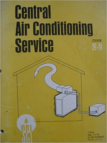 Central Air Conditioning Service (Course S-9): Sears Roebuck