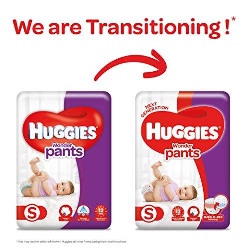 Huggies Wonder Pants Diapers Small Size Monthly Pack 168 Pieces at best price