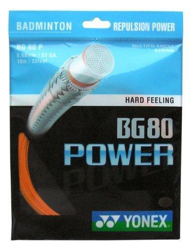 Yonex BG 80 Power、明るいオレンジbyヨネックス B018RPD7PE