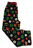 Justice League Boys Lounge Sleep Pajama Pants Black XL (14/16)