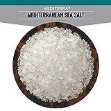 SaltWorks Mediterra Mediterranean Sea Salt, Coarse, Artisan Pour Spout Pouch, 16 Ounce