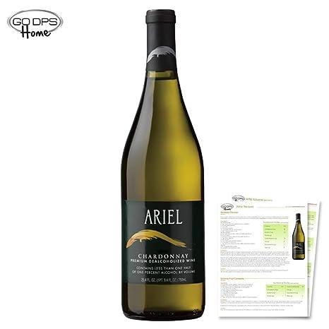 amazon com ariel chardonnay non alcoholic white wine wine