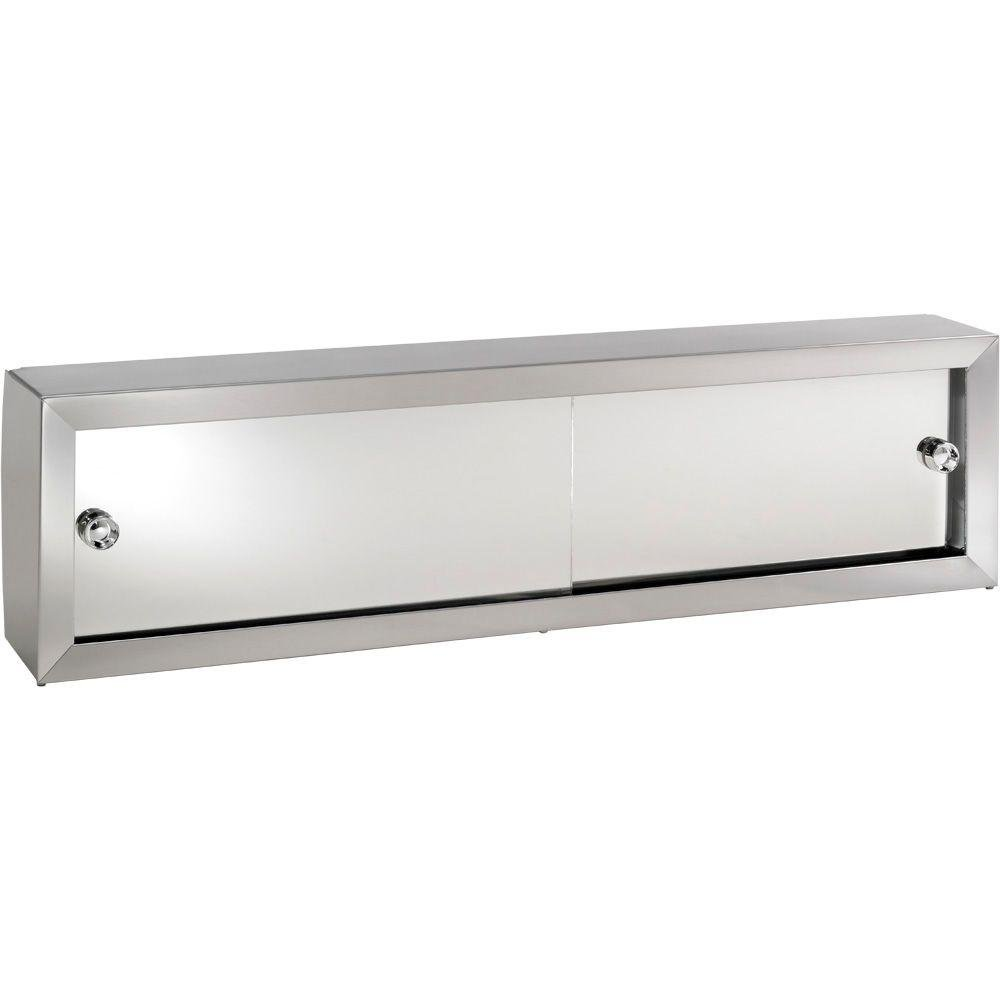 Cosmetic Box 24-1/4 in. W x 8.75 in. H x 4.25 in. D Surface-Mount Bathroom Medicine Cabinet chic