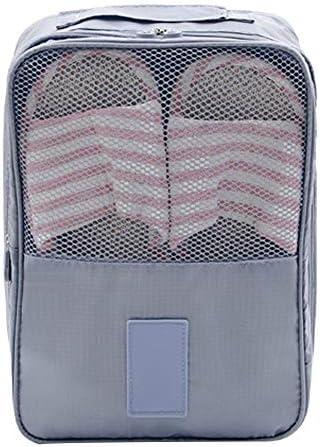 Majoreal 旅行靴バッグ折りたたみ式防水靴ポーチオーガナイザー防塵靴オーガナイザー