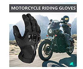 Issyzone Motorcycle Gloves Touch Screen Air-permeable and Skid-proof Cycling Mens and Womens General Gloves Suitable for Motorcycle