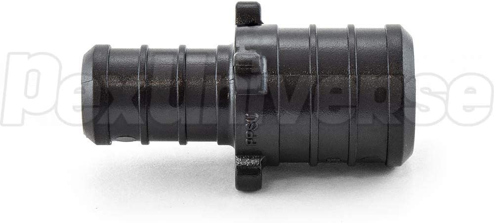 Poly Alloy Pack of 50 3//4 x 1//2 PEX Coupling Lead-Free