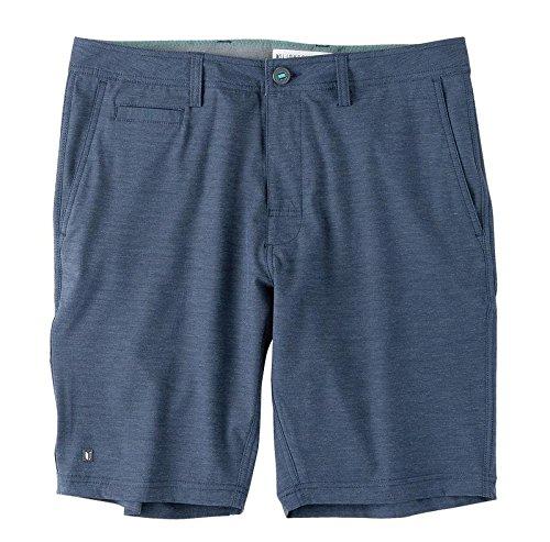 LinkSoul 4-Way Stretch Boardwalker Golf Shorts, Navy, (Golf Belt Watch)