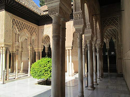 (Home Comforts Laminated Poster Spain Castle Alhambra Style Fortress The Moorish Vivid Imagery Poster Print 11 x)