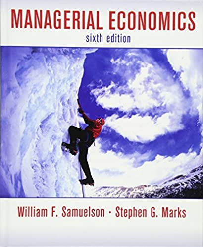 managerial economics 9780470282427 economics books amazon com rh amazon com Managerial Economics Formula Managerial Economics Problems