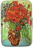 RFID Secure Armored Wallet - Fine Art 4, Poppy Vase