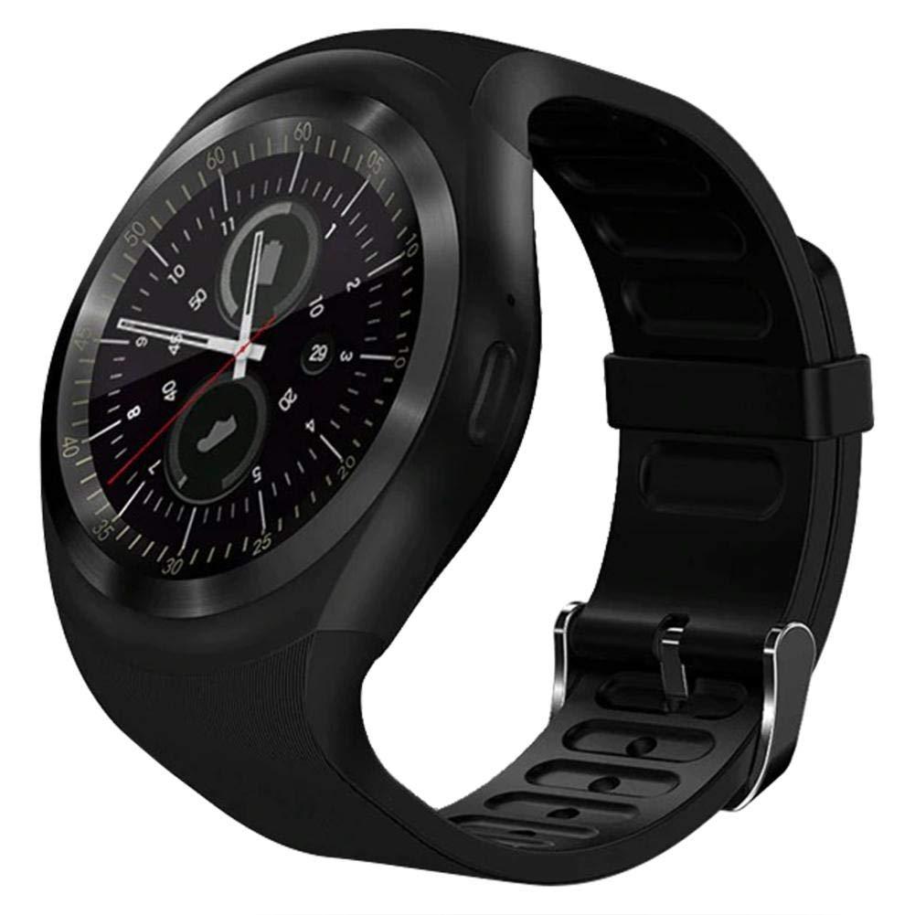 Amazon.com: vanpower Bluetooth 3.0 Smart Watch Round Support ...