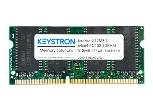 512MB PC133 144pin SDRAM SODIMM Printer Memory for Brother MFC-9840, MFC-9840CDW, MFC9840, MFC9840CW… by Keystron