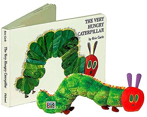 The Very Hungry Caterpillar Boardbook & Plush toy Gift Set