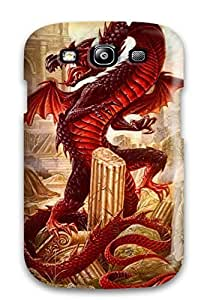 Durable Defender Case For Galaxy S3 Tpu Cover(dragon)