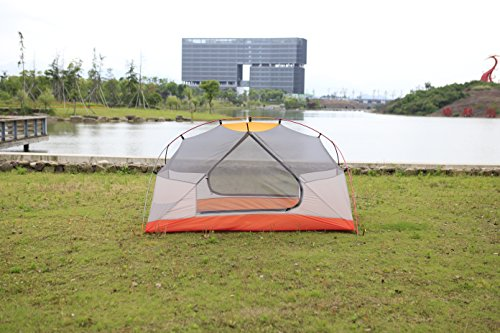 STAR HOME Camping Tent Lightweight Waterproof Backpacking Tents Hiking 2 Person Tents 3 Size by STAR HOME (Image #3)